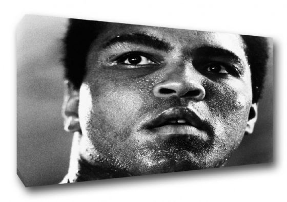 Muhammad Ali. Boxing/Sporting Legend Canvas. Sizes: A3/A2/A1